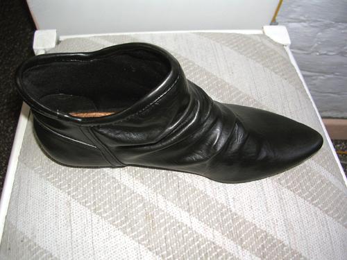 schoenen in boven-zijaanzicht