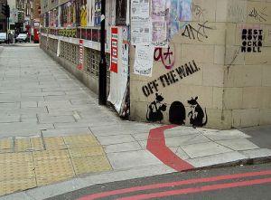 Rat Restaurant van Banksy